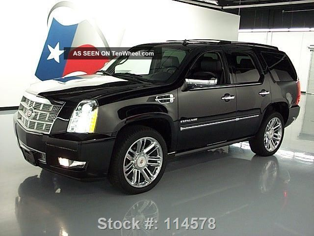 2012 cadillac escalade platinum awd dvd 38k texas direct auto. Black Bedroom Furniture Sets. Home Design Ideas