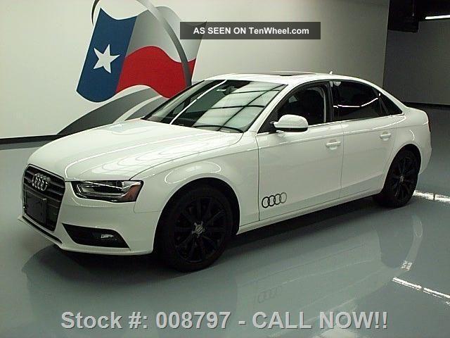 2013 Audi A4 2.  0t Quattro Premium Plus Awd Texas Direct Auto A4 photo