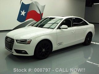 2013 Audi A4 2.  0t Quattro Premium Plus Awd Texas Direct Auto photo