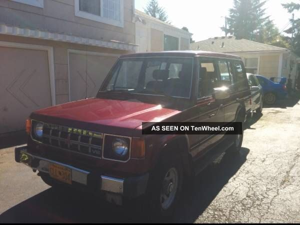 1991 Mitsubishi Montero Rs Sport Utility 4 - Door 3.  0l Montero photo