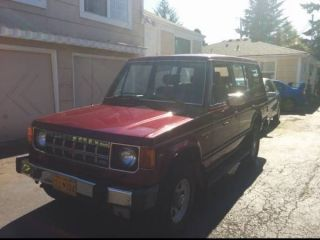 1991 Mitsubishi Montero Rs Sport Utility 4 - Door 3.  0l photo