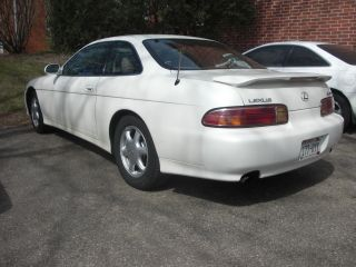 1997 Lexus Sc300 Pearl White photo