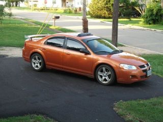 2005 Dodge Stratus R / T Sedan Orange Blast Pearl Coat Low Production Make Offer photo