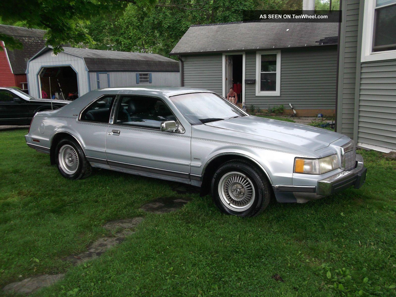 1989 Lincoln Mark 7 Lsc