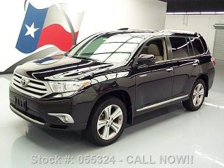 2012 Toyota Highlander Ltd 47k Texas Direct Auto photo