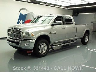 2013 Dodge Ram 2500 Laramie Crew 4x4 Diesel Longbed 15k Texas Direct Auto photo