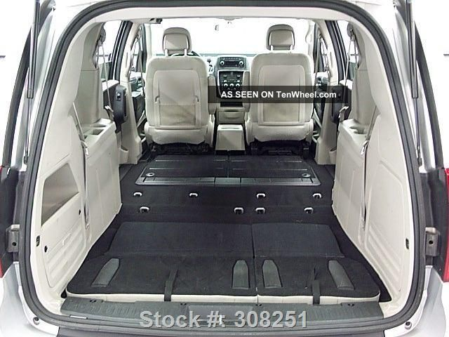 2012 Dodge Grand Caravan Sxt Stow N Go Alloy Wheels 61k