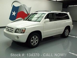 2007 Toyota Highlander V6 Cruise Control 59k Mi Texas Direct Auto photo