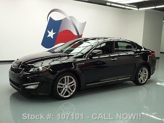 2013 Kia Optima Sxl Turbo Dual 24k Texas Direct Auto photo