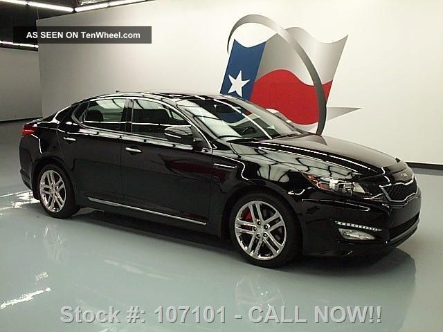 2013 kia optima sxl turbo dual 24k texas direct auto. Black Bedroom Furniture Sets. Home Design Ideas