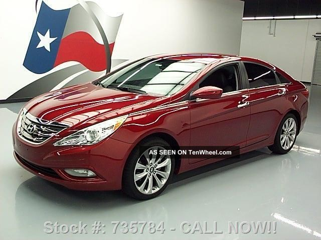 2013 Hyundai Sonata Se Gdi Paddle Shifters 18 ' S 7k Mi Texas Direct Auto Sonata photo