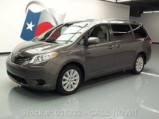 2012 Toyota Sienna Le Awd 7 - Passenger Alloy Wheels 68k Texas Direct Auto photo