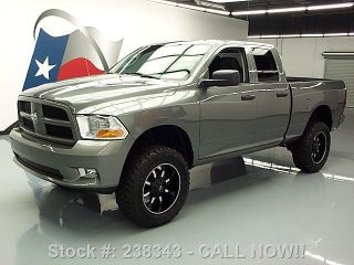 2012 Dodge Ram Express Quad Hemi 4x4 Lifted 20 ' S 14k Mi Texas Direct Auto photo