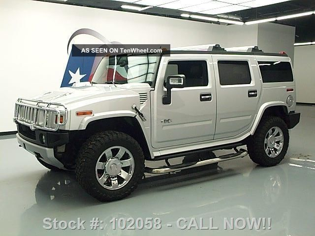2009 Hummer H2 Lux 4x4 Quad Dvd 72k Texas Direct Auto H2 photo