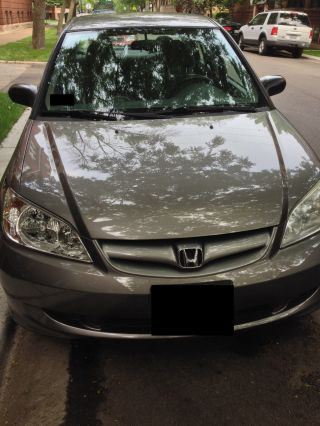 2005 Honda Civic In Magnesium Metallic photo