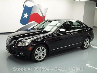 2008 Mercedes - Benz C300 4matic Lux Awd Only 58k Texas Direct Auto photo