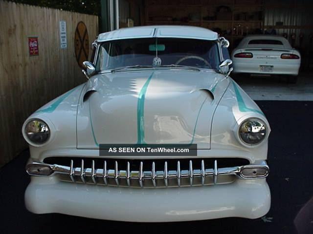 1954 Chevy Del Ray Custom Show Car Bel Air/150/210 photo