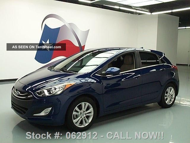 2013 Hyundai Elantra Gt Hatchback Auto 14k Texas Direct Auto Elantra photo