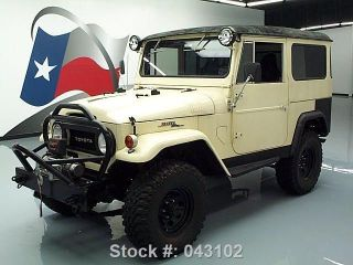 1966 Toyota Fj40 Hardtop 4x4 Custom 58k Texas Direct Auto photo