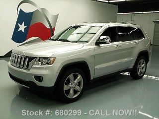 2011 Jeep Grand Cherokee Overland Pano Roof 46k Mi Texas Direct Auto photo