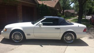1998 Mercedes Benz Sl500 photo
