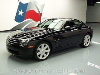 2007 Chrysler Crossfire 6 - Speed Alloys Only 56k Texas Direct Auto photo