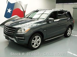 2012 Mercedes - Benz Ml350 4matic Awd Diesel 46k Texas Direct Auto photo