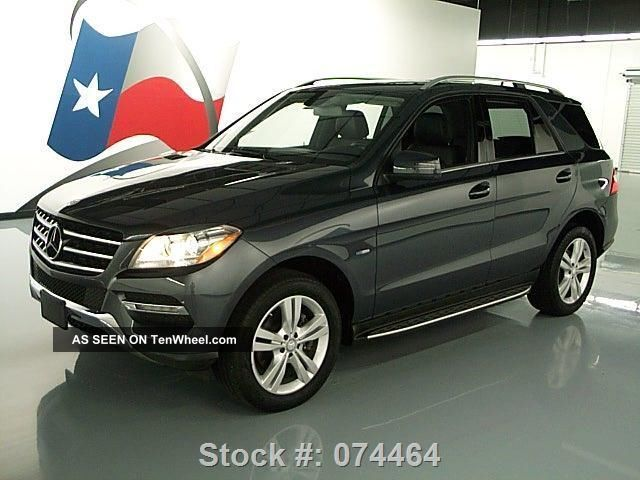 2012 mercedes benz ml350 4matic awd diesel 46k texas for Mercedes benz ml350 4matic 2012