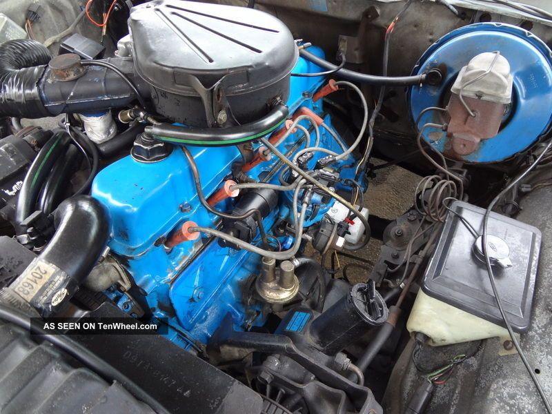 Horsepower Of 300 6 Cylinder Ford Engine