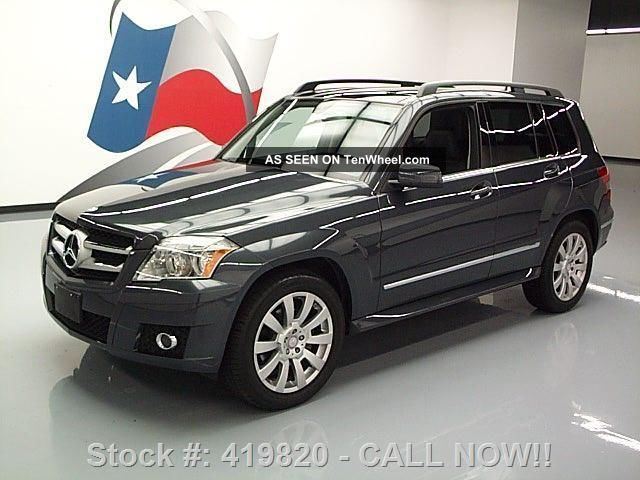 2010 mercedes benz glk350 4matic awd pano 48k texas for 2010 mercedes benz glk350 4matic