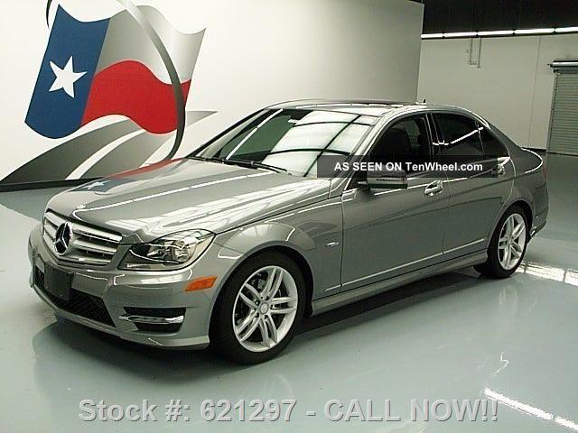 2012 mercedes benz c250 sport sedan turbo 15k texas for Mercedes benz 2012 c250 sport