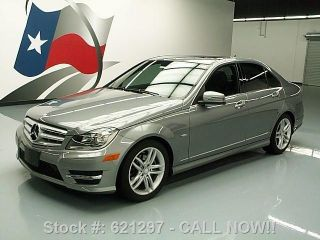 2012 Mercedes - Benz C250 Sport Sedan Turbo 15k Texas Direct Auto photo