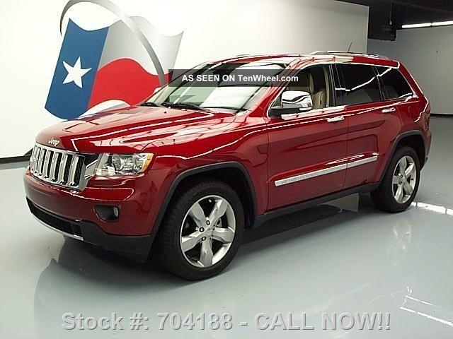 2011 Jeep Grand Cherokee Overland Hemi Pano Texas Direct Auto Grand Cherokee photo
