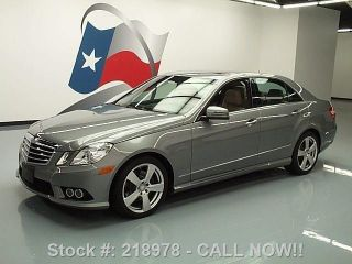 2010 Mercedes - Benz E350 Sport P1 4matic Awd 24k Texas Direct Auto photo