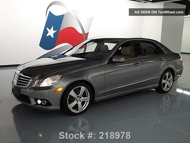 2010 mercedes benz e350 sport p1 4matic awd 24k texas for 2010 mercedes benz e350 4matic