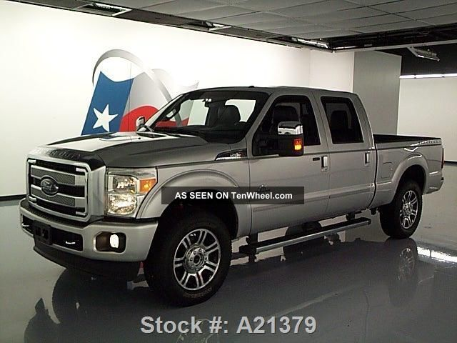 2014 ford f250 platinum crew 4x4 diesel 3k texas direct auto. Black Bedroom Furniture Sets. Home Design Ideas