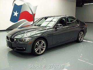 2012 Bmw 335i Sport Sedan Turbo 19k Mi Texas Direct Auto photo