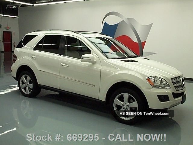 2011 mercedes benz ml350 19 wheels only 46k mi texas for Mercedes benz bloomfield mi