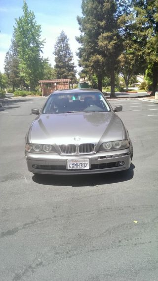 2002 Bmw 540i Base Sedan 4 - Door 4.  4l photo