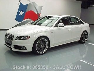 2010 Audi S4 3.  0t Quattro Prestige Awd 44k Texas Direct Auto photo