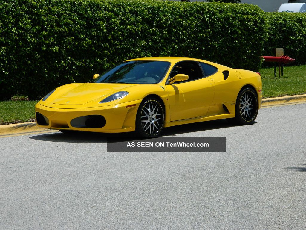 2006 Ferrari F430 Coupe F - 1 Giallo Modena Hre Wheels Carbon Fiber Dash 430 photo