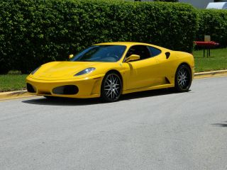 2006 Ferrari F430 Coupe F - 1 Giallo Modena Hre Wheels Carbon Fiber Dash photo