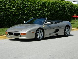 1999 Ferrari F355 355 Spider F1 F - 1 Grigio Ingrid Scuderia Shields Red Calipers photo