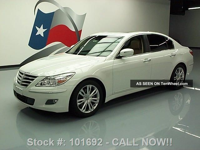 2010 Hyundai Genesis 3.  8 Htd 61k Mi Texas Direct Auto Genesis photo