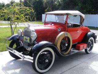 1929 Model A Ford Roadster photo