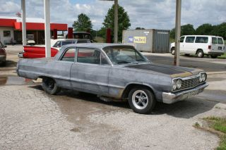 1964 Chevrolet Biscayne 2dr.  Hot Rod Rat Rod Gasser photo