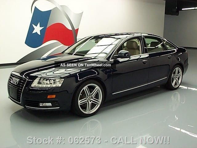 2010 audi a6 3 2 premium plus auto 19 39 s 47k texas direct auto. Black Bedroom Furniture Sets. Home Design Ideas