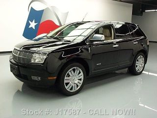 2008 Lincoln Mkx Elite Ultimate Pano 69k Mi Texas Direct Auto photo
