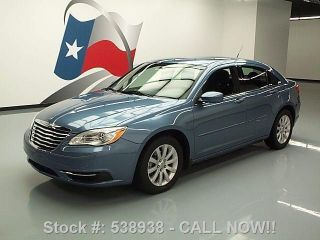 2011 Chrysler 200 Touring Sedan Cd Audio Alloys 47k Mi Texas Direct Auto photo