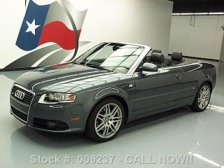 2009 Audi A4 2.  0t Quattro Cabriolet Awd S - Line 48k Texas Direct Auto photo